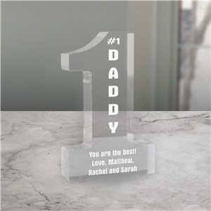 Number One Personalized Keepsake