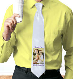 Picture Perfect Personalized Photo Neck Tie
