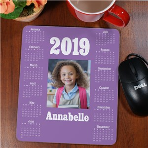 Picture Perfect Photo Calendar Mouse Pad