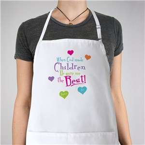 God Gave Me the Best Personalized Apron