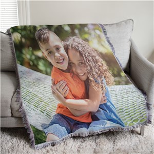 Custom Photo Tapestry Throw