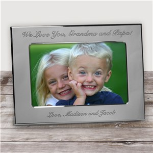 Any Message Silver Picture Frame