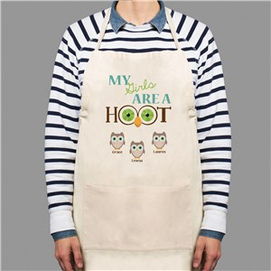 Personalized Are A Hoot Apron