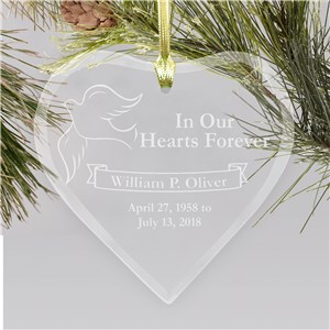 Hearts Forever Memorial Ornament