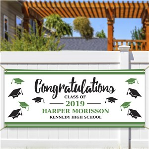 Personalized Congratulations Class Of Banner