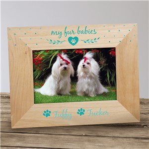 Personalized Fur Babies Pet Frame
