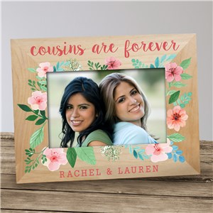 Personalized Cousins Are Forever Frame