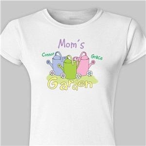 757cfff4 Personalized Garden Womens Fitted T-Shirt