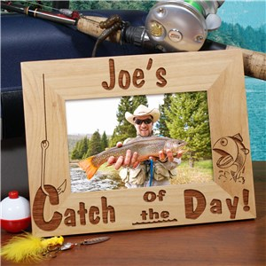 Catch of the Day Wood Picture Frame