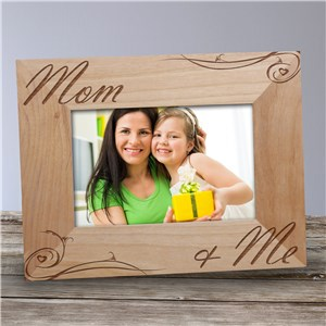 Personalized Mom and Me Picture Frame