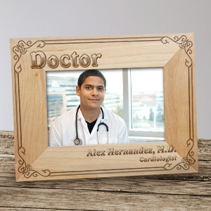 Doctor Wood Picture Frame