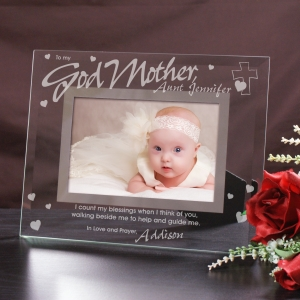 Godparent Glass Picture Frame