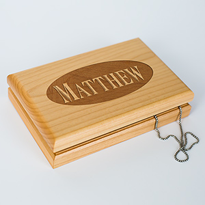 Engraved Valet Box