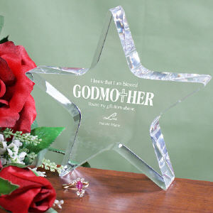 Godmother Star Keepsake