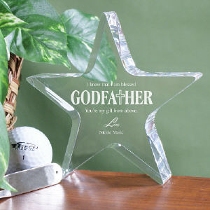 Godfather Star Keepsake