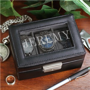 Personalized Name Watch Box