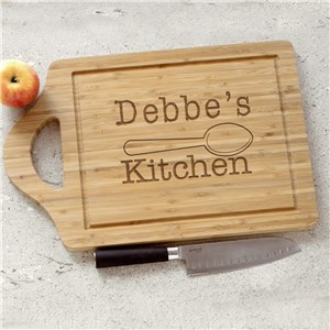 Your Engraved Kitchen Bamboo Cheese Carving Board
