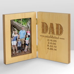 Est. Dad wood frame