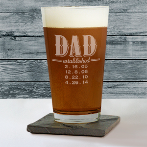 Dad glass