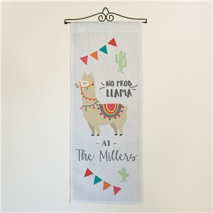 Personalized No-Prob Llama Wall Hanging