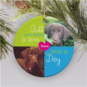 Pet Photo Ornament