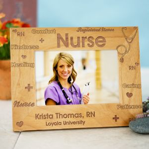 Registered Nurse Personalized Picture Frame