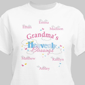 Personalized My Heavenly Blessings T-Shirt