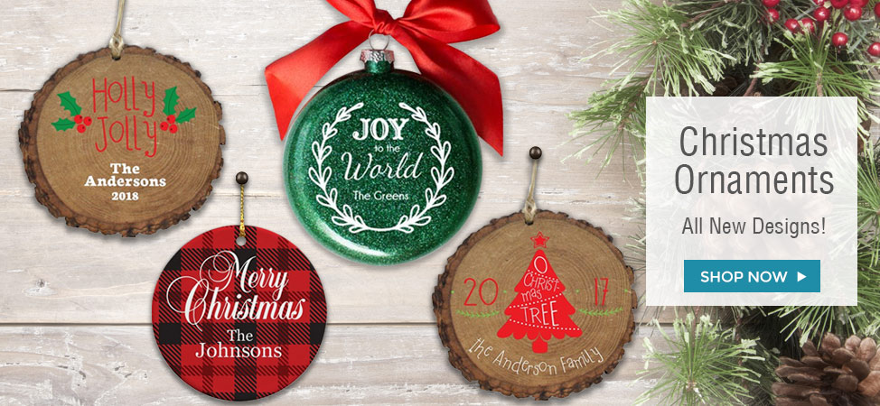 Christmas and Holiday Ornaments