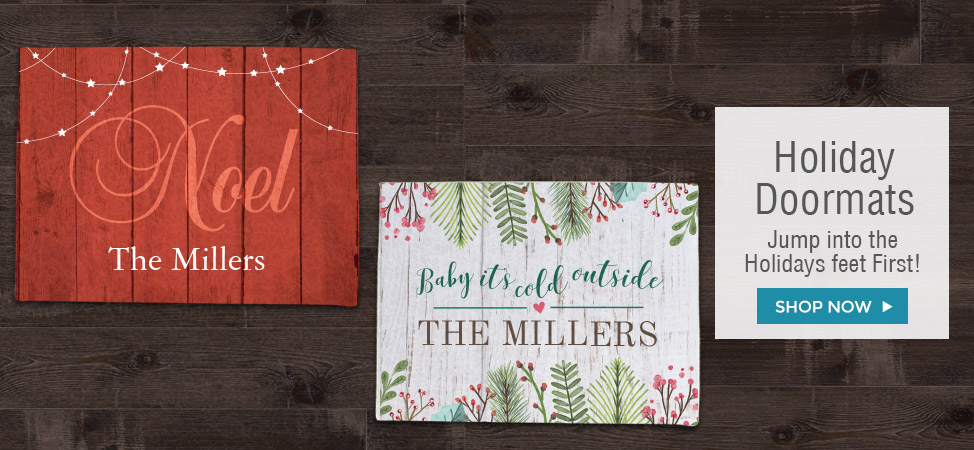 Christmas and Holiday Doormats
