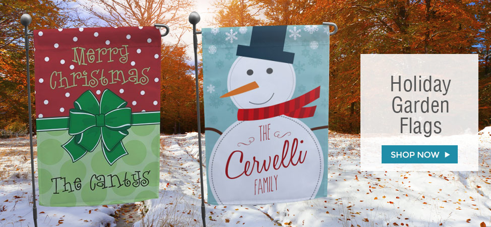Christmas and Holiday Garden Flags