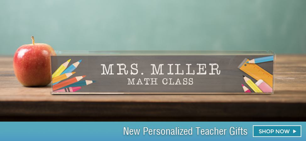 Personalized School Gifts